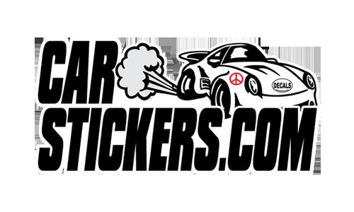 Thank you CarStickers.com